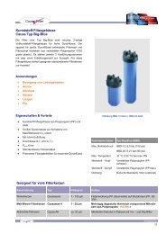 Kunststoff Serie Typ Big-Blue (PDF-Übersicht) - Infiltec GmbH