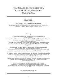 calendarium-necrologium st. plechelmusbasiliek oldenzaal