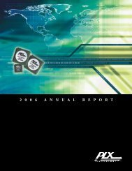 the 2006 Annual Report (pdf) - PLX Technology