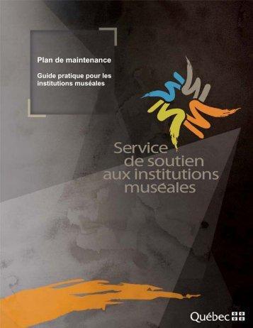 Plan de maintenance – Guide pratique pour les institutions muséales