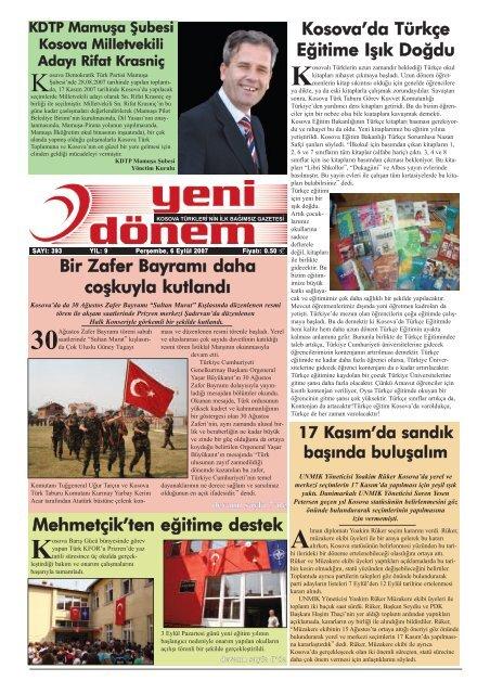 Bir Kosova Prizrenliler Ka Lta R Ve Yarda Mlaaÿma Derneaÿi