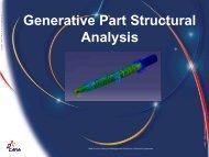 CATIA V5 Generative Part Structural Analysis