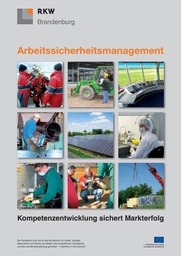 Arbeitssicherheitsmanagement - RKW Berlin-Brandenburg