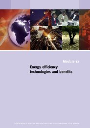 Energy efficiency technologies and benefits - REEEP / UNIDO ...