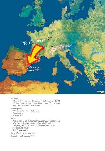 Exchange student guide 2011-2012 - Oficina de Programas ...