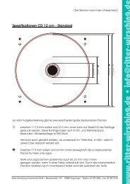 · Spezifikationen CD 12 cm - Standard - Ritter + Wirsching ...
