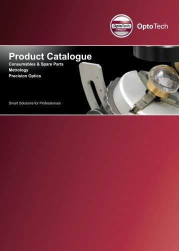 Download Catalogue Metrology Precision Optics - OptoTech