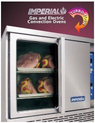 Convection Oven Catalog