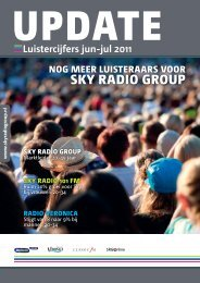 Luistercijfers web jun-jul.indd - Sky Radio Group