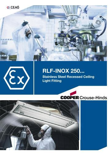 RLF-INOX 250... - Cooper Crouse-Hinds