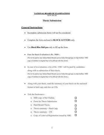 thesis instructions Planning your written culminating experience, thesis, or dissertation welcome to the office of academic affairs & student services we're here to help you plan your written culminating experience (wce), thesis, or dissertation.