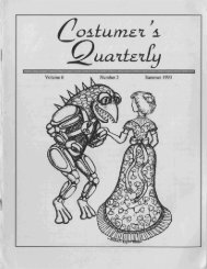 Vol 6 No 3 - International Costumers' Guild, Inc.