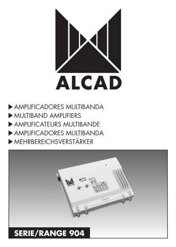 SERIE/RANGE 904 - Alcad