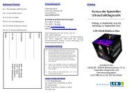 2011 Kurs der spe. Ultraschalldiagnostik 9.-10.9.11