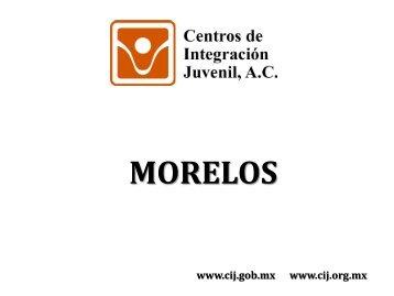 Morelos - Centros de Integración Juvenil