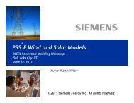 PSSE Wind Solar Models_June22-2011