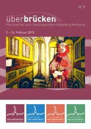 ueberbruecken2_13 - Seelsorgeeinheit Heidelberg-Neckartal