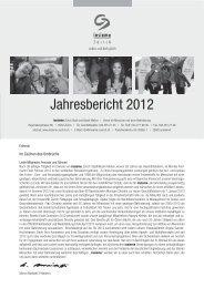 Jahresbericht 2012 - insieme Zürich