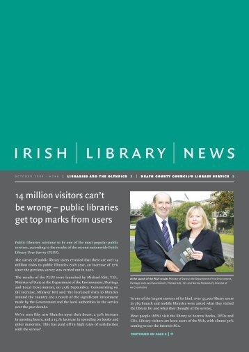 IRISH | LIBRARY | NEwS - Ask About Ireland