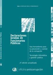 Declaraciones Juradas de Funcionarios P blicos - Oficina ...