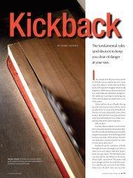 Kickback - Popular Woodworking Magazine - November 2008