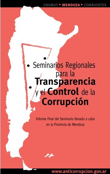 chubut ? mendoza - Oficina Anticorrupción