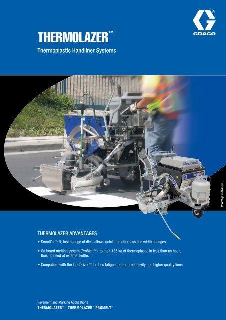 ThermoLazer ™ brochure in PDF format - Sprayair & Power
