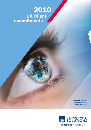 Commitments 2010 United Kingdom {PDF} - AXA Corporate Solutions