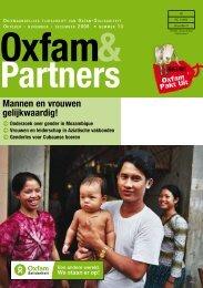 Mannen en vrouwen gelijkwaardig! - Oxfam-Solidariteit