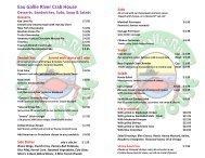 Eau Gallie River Crab House Desserts, Sandwiches, Subs, Soup ...