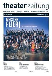 Theaterzeitung Oktober 2013 - Theater Hagen