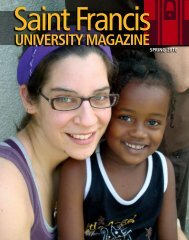 University MAGAZine - Saint Francis University