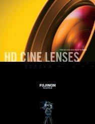 HD CINE LENsEs - Fujinon