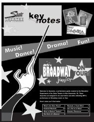 Broadway Junior - State Theatre