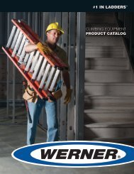 300lbs. LOAD CAPACITY - National Ladder and Scaffold Co.