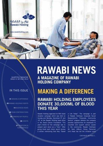 Rawabi Holding Magazine Issue 31