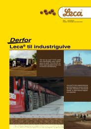 Leca® industrigulve - Weber