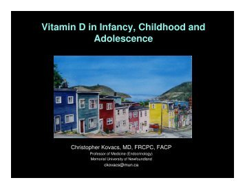 Vitamin D in Infancy, Childhood and Adolescence - ILSI India