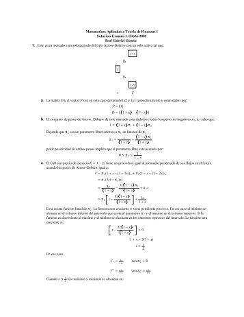 Solucion Examen #1 - ITAM