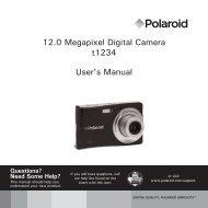 12.0 Megapixel Digital Camera t1234 User's Manual - Plawa