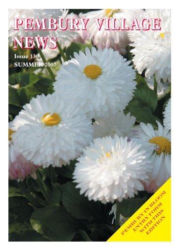 Issue 130 - the Pembury Village Website