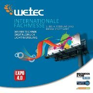 MEDIA PARTNERS 14 magazines are supporting EXPO 4.0 - wetec