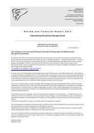 Annual Report 2012 - International Eurythmy Therapy Forum
