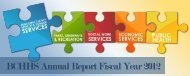 BCHHS Annual Report Fiscal Year 2012 - Buncombe County