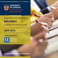 institute-of-education-prospectus