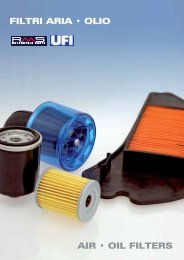 FILTRI ARIA • OLIO AIR • OIL FILTERS - Rms