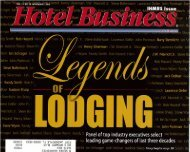 Hotel Business - Driftwood Hospitality Management