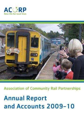 Annual Report and Accounts 2009-10 - Association of Community ...