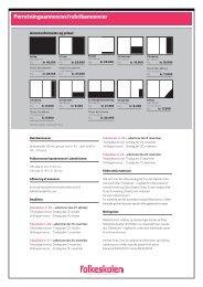 Medieinformation med formater og frister 2011 - Folkeskolen