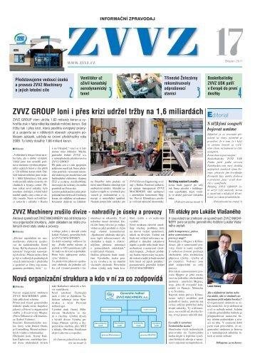 Zpravodaj ZVVZ č.17 - ZVVZ a.s.